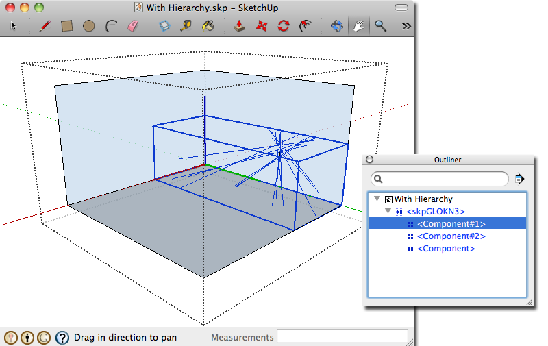 how to create a component in sketchup