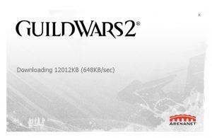 Guild Wars 2 - Updating Itself