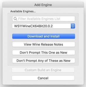 Wineskin Winery - Add Engine